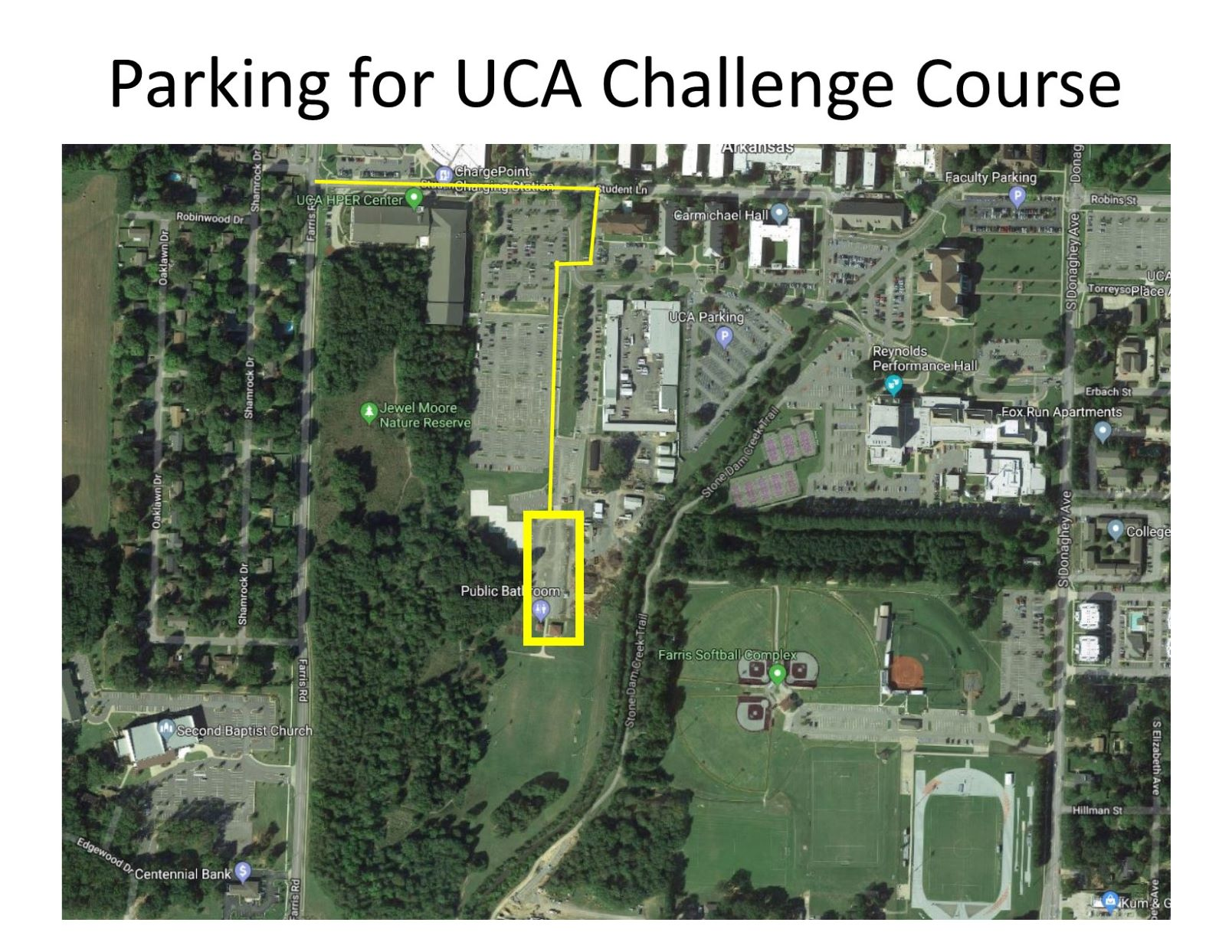 Ribbon-Cutting: UCA Campus Recreation Challenge Course on uca campus layout, fullerton zip code map, ualr campus map, university of houston victoria campus map, uca campus virtual, uca campus dorms, conway county arkansas township map, north central college campus map,